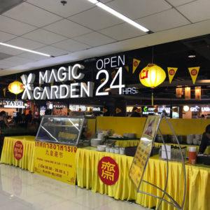 ドンムアン空港で食事をするならリーズナブルなフードコート!日本でお馴染みなお店もあり