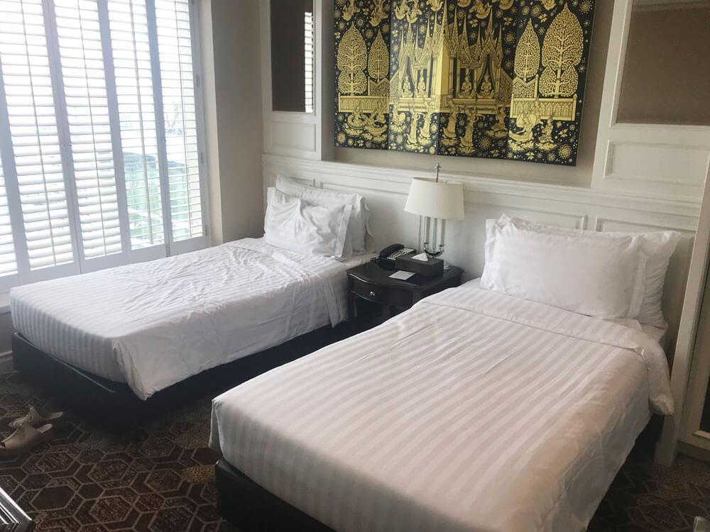 グランデセンターポイントホテルラチャダムリのベッド