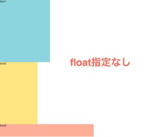 float指定なし